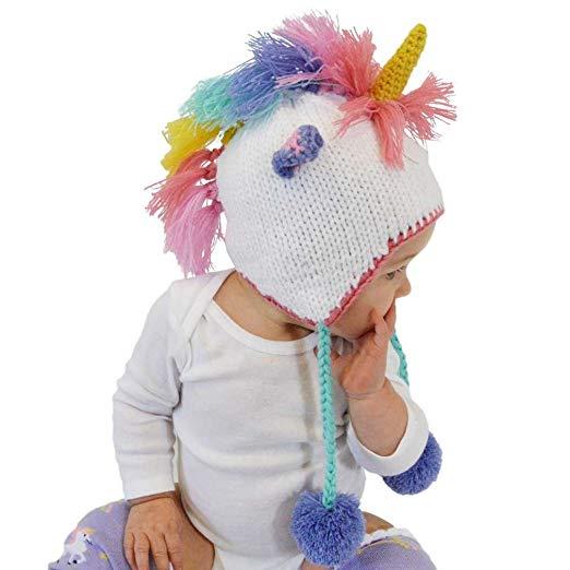 Amazon Com  Huggalugs Baby, Toddler And Adult Unicorn Beanie Hat