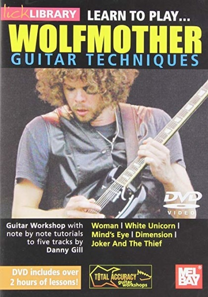 Amazon Com  Learn To Play Wolfmother Guitar Techniques Dvd  Danny