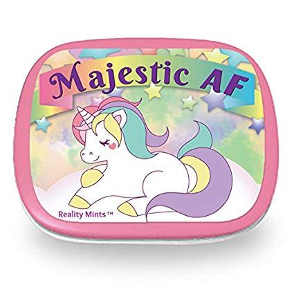 Amazon Com  Majestic Af Unicorn Mints – Funny For Women Sassy