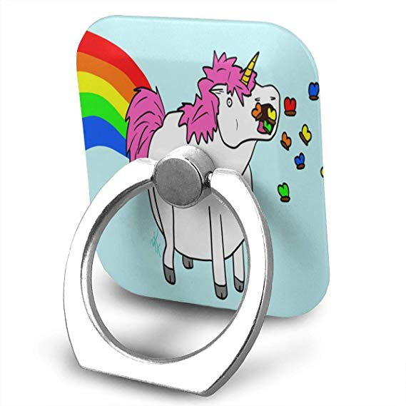 Amazon Com  Nmceo Cell Phone Finger Ring Stand Fat Unicorn Eating
