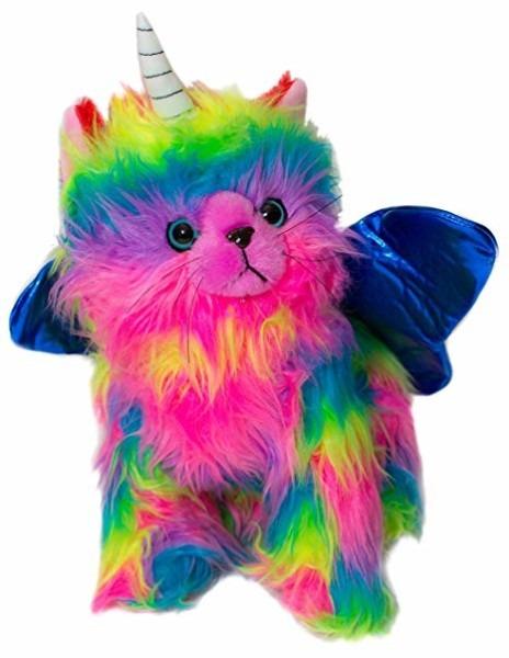 Amazon Com  Rainbow Butterfly Unicorn Kitten Stuffed Toy Stuffed