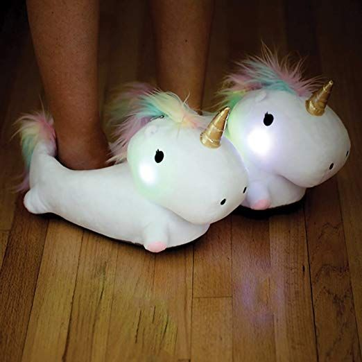 Amazon Com  Smoko Unicorn Light Up Slippers  Sports & Outdoors