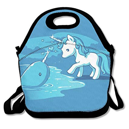 Amazon Com  Unicorn And Narwhal Lunch Bag Lunchboxes Outdoor