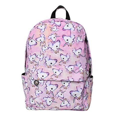 Amazon Com  Unicorn Backpack For Girls, Tezoo 3d Unicorn Print