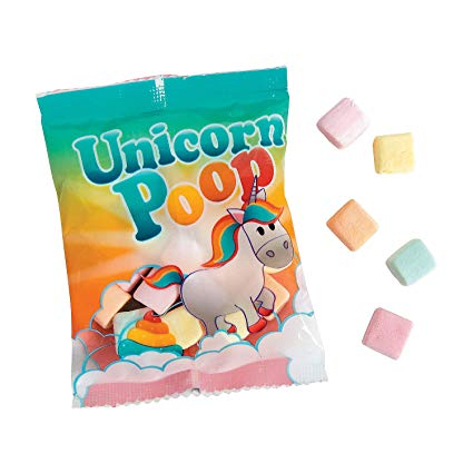 Amazon Com  Unicorn Poop Marshmallow Candy Fun Packs