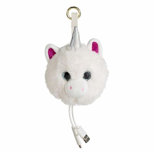 Amazon Com  Unicorn Tech Charging Pom Bag Charm Portable Power