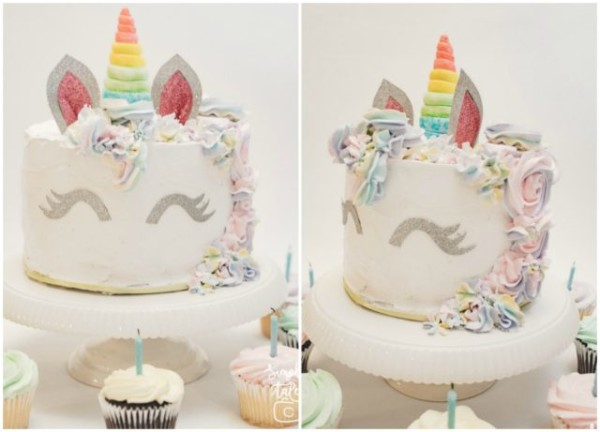 Baking} Unicorn Birthday Cake