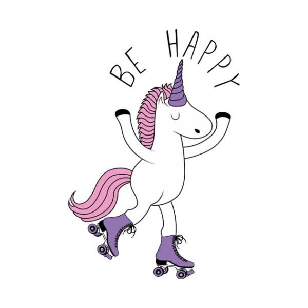 Be Happy Unicorn