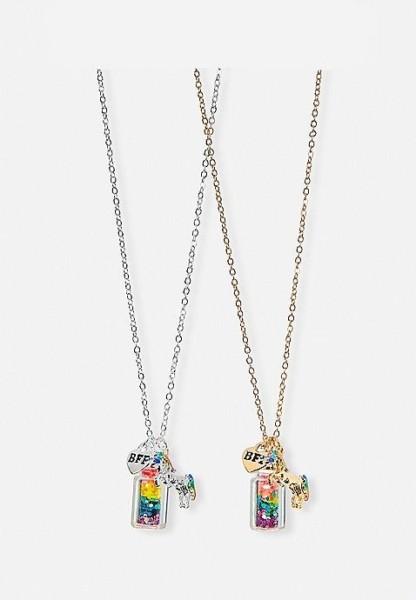 Bff Rainbow Unicorn Potion Necklaces