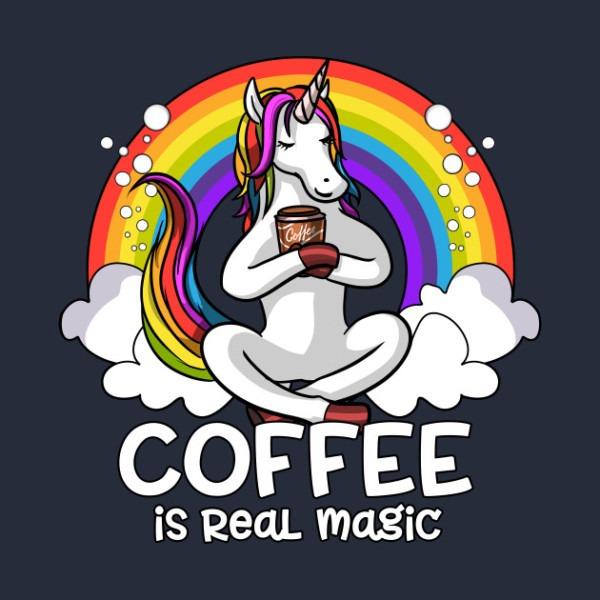 Buy A Random Unicorn Who Loves Coffee A Coffee