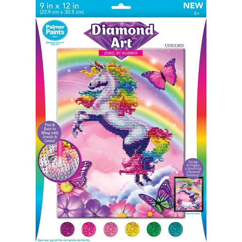 Crazart Diamond Art Unicorn 20pc Activity Kit   Target