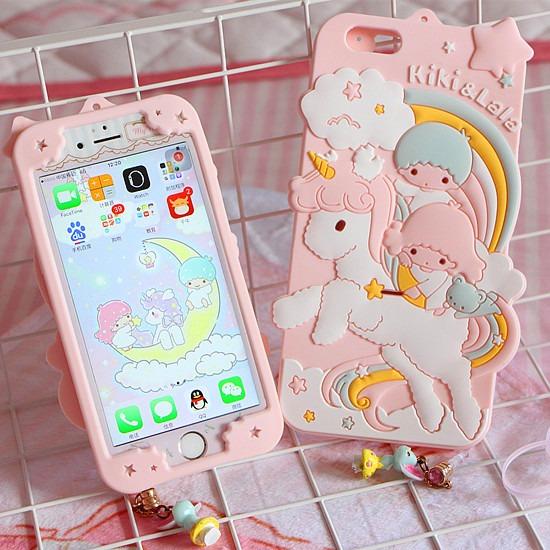 Cute Unicorn Phone Case For Iphone 6 6s 6plus 7 7plus 8 8p