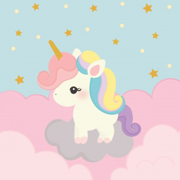 Cute Unicorn Vector Vector