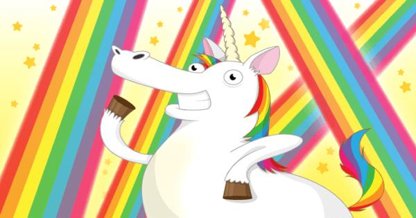 Dancing Unicorns And Rainbows