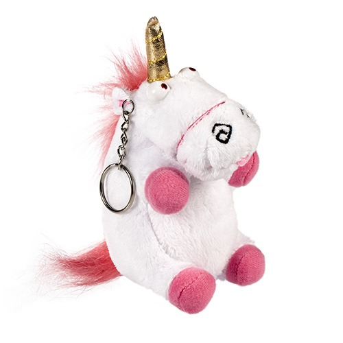 Despicable Me Unicorn Plush Keychain