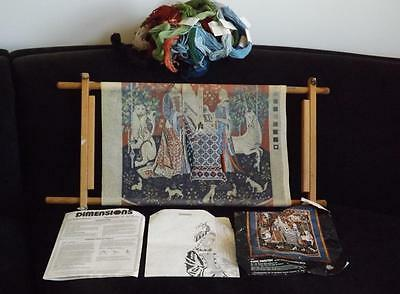Dimensions Cluny Tapestry Lady & The Unicorn Sense Of Sound