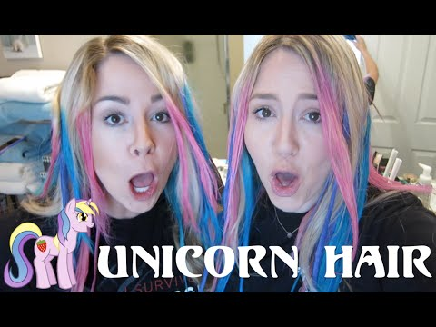 Diy Super Easy Unicorn Hair Color!