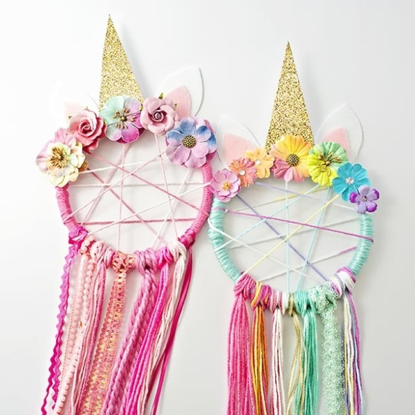 Diy Unicorn Dreamcatcher