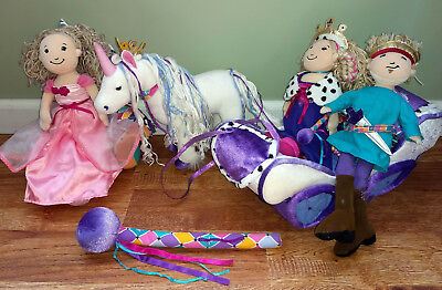 Dreamtastic Groovy Girls Carriage, Unicorn, Prince, Princess