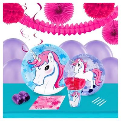 Enchanted Unicorn Party Decoration Kit   Target