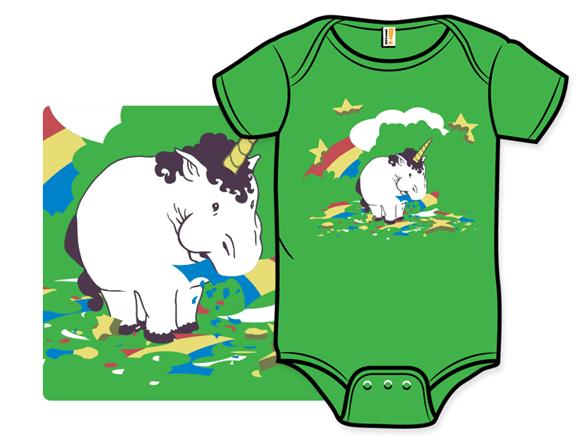 Fat Unicorn Infant One