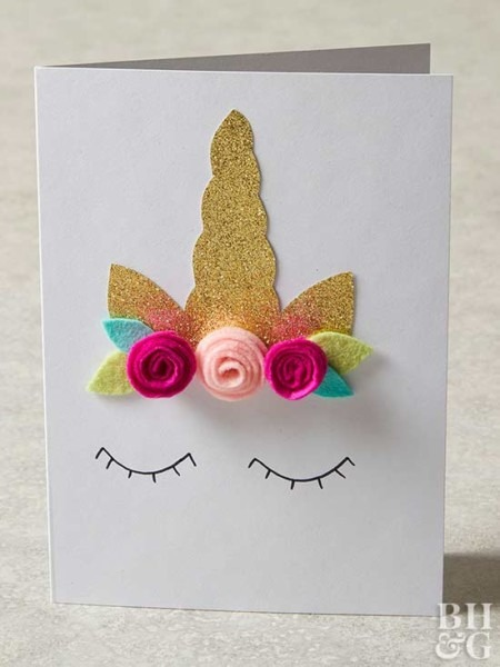 Fun Handmade Birthday Cards For Girls