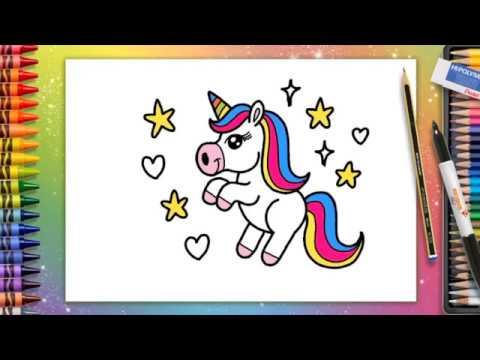 Fun Pencil Club  How To Draw A Cute Unicorn