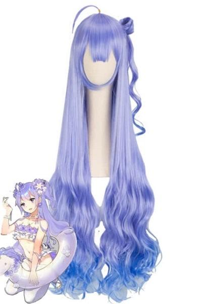 Game Azur Lane Unicorn Lolita Cosplay Wigs For Sale
