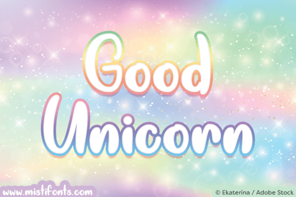 Good Unicorn Font