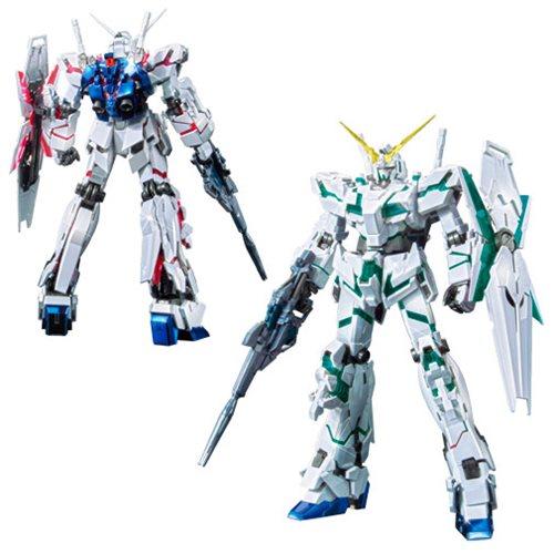 Gundam Unicorn Re 0096 Titanium Finish (red Green Frame Ver