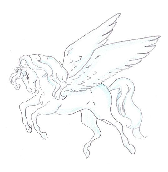 How To Draw A Pegasus  15 Steps (with Pictures)