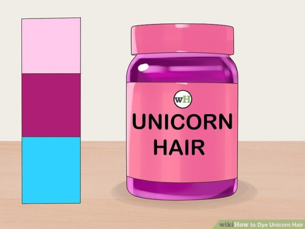 How To Dye Unicorn Hair (with Pictures)