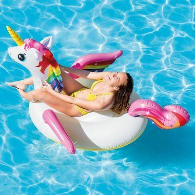 Intex Rainbow Unicorn Inflatable Animal Ride