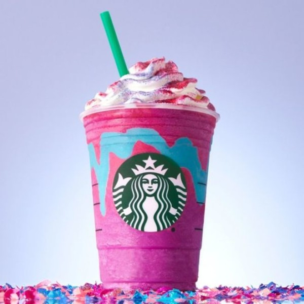 Is The Unicorn Frappuccino At Starbucks Vegan  Here's What You