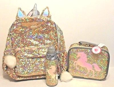Justice Unicorn Backpack Amazon Justice Gold Unicorn Flip Sequin