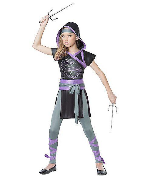 Kids Fighter Ninja Costume