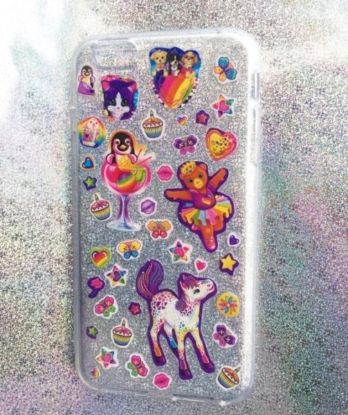 Lisa Frank Holographic Phone Case