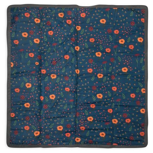 Little Unicorn Outdoor Blanket Midnight Poppy Clearance