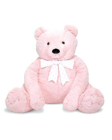Melissa And Doug Unicorn Jumbo Teddy Bear Light Pink Kids Toys