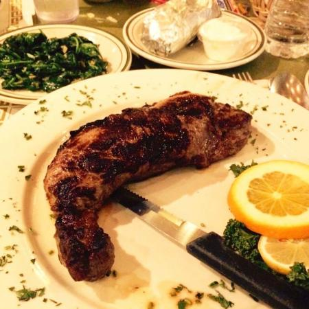 Mikes Unicorn Dine Ny Strip Steak