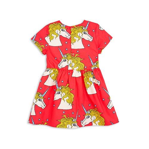 Mini Rodini Unicorn Star Woven Dress