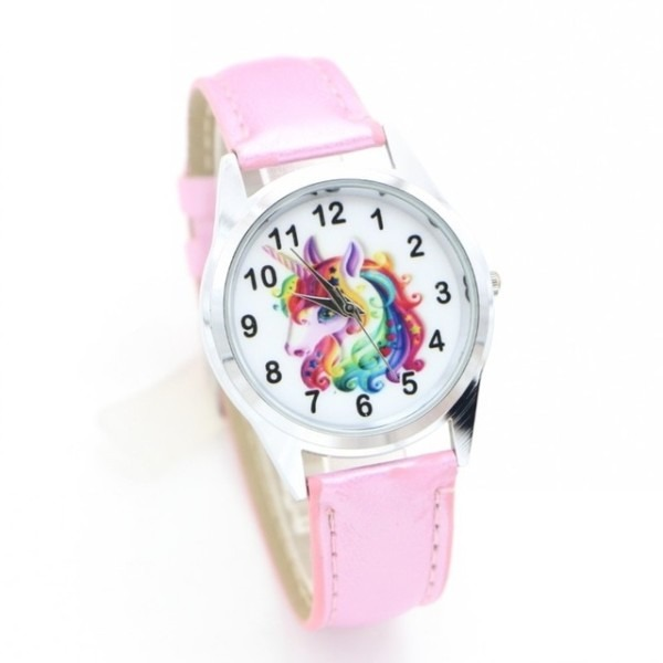 New Fashion Cute Unicorn Desgin Brand Children Quartz Watch Kids