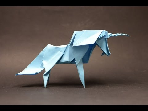 Origami Unicorn By Roman Diaz (part 1 Of 2) (remake)