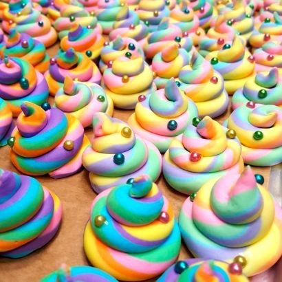 Pictures Of Unicorn Poop Cupcakes
