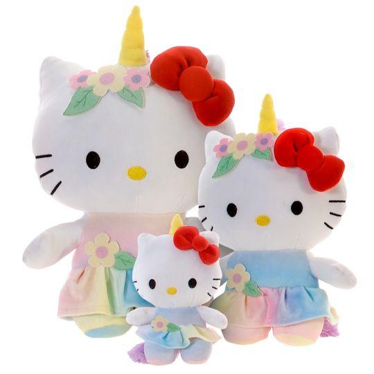 Plush Hello Kitty Unicorn 12  From American Carnival Mart