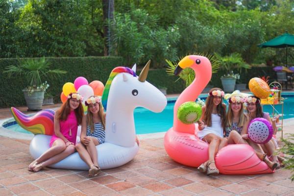 Pool Party Ideas Via Blossom