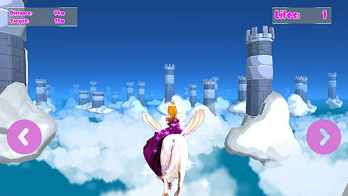 Princess Unicorn  Sky World Run For Android
