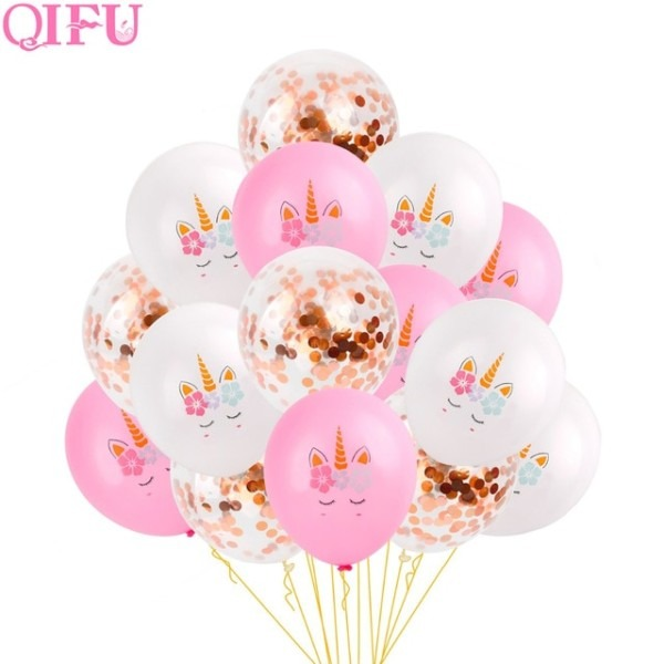 Qifu Unicorn Party Supplies Unicorn Birthday Decorations Unicorn
