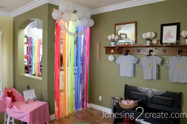 Rainbow Unicorn Party Decorations