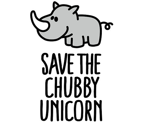 Save The Chubby Unicorn  Posters By Laundryfactory